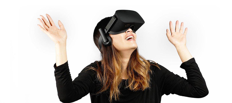 Smiling Oculus Rift user. Forbes