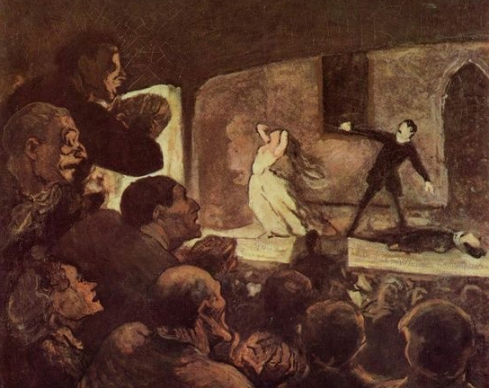 Virtual Reality 1860 French theater