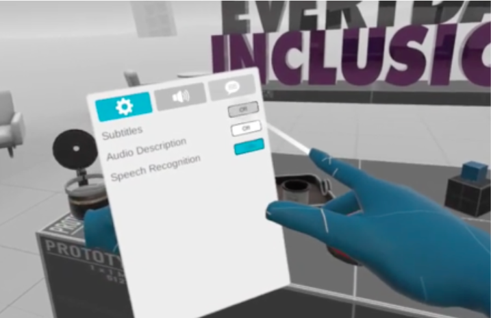 Virtual Reality Diversity Inclusion Training Accessibilities Settings
